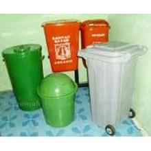 Bahan Stainless Tempat Sampah Fiber