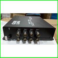 Jual AHD CCTV Media Converter - fiber Optik 8 ch - 720P