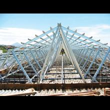Pemasangan rangka atap ringan harga berkawan