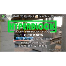 Bata Ringan Hyper Block AAC Distributor Bata Ringan