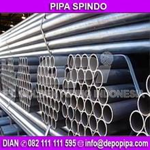 Pipa SPINDO Pipa Besi PIPA Hitam Pipa Seamless Stainless