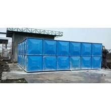 TANGKI AIR FIBERGLASS TYPE PANEL 15000 LITER = 15 M3 = 15 KUBIK