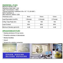 Glass Pb Spesification and application