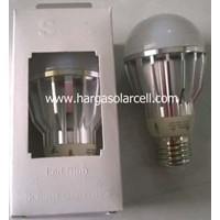 Jual Lampu LED Bulb 12V 5W Model Fitting Untuk Solarcell Solar Panel