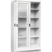 Almari Arsip Pintu Kaca Geser ( Slidding Door)