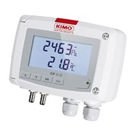 Kimo Differential Pressure & Temperature Transmitter – CP210
