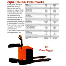 Hand Pallet electric pallet truck
