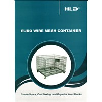Pallet Racking System ( Heavy Duty) EURO WIRE MESH
