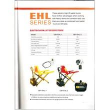 Electric High Lift Scissor Truck Hand Pallet