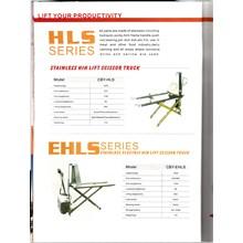 Stainless Hih Lift Scissor Truck Hand Pallet