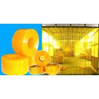 Tirai PVC Kuning