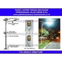 LAMPU PENERANGAN JALAN CT PJU 10 W SINGLE ARMATURE