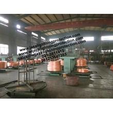 Kabel Listrik Bare Copper Grounding System Kabel BC 35mm