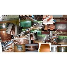 Aksesoris Listrik Rail Copper Jalur 16mm Jasa Lightning Protection