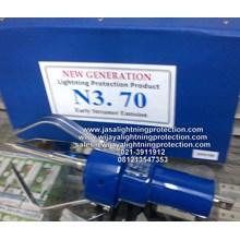 Penangkal Petir Head Lightning Protection Blue CRN