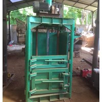 Jual mesin press kardus kertas atau karung (eletrik atau pengerak dongfeng 20pk)