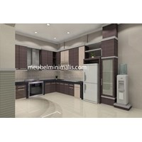 Elegant Minimalist Kitchen Set