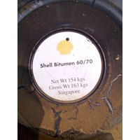 Shell Bitumen Drum Pen 60 70 Dengan Spesifikasi Weight  163 Kg