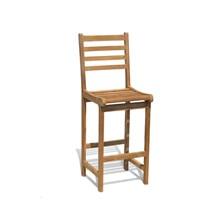 Kursi Kayu Jati Yale Bar Chairs