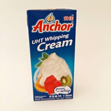 bahan kue Anchor Dairy Whipped Cream 1L