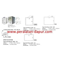 Jual Plug In Cold Room Cold Storage