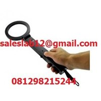 Jual Handheld Metal Detector KMTS80 - Deteksi Logam