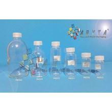 PNC060. Botol kaca bening 100ml injeksi tutup sumb