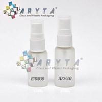 Spy162. Botol Kaca Mossa Bening 20Ml Tutup Spray