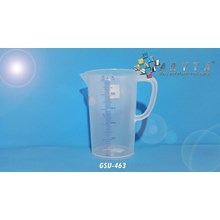 GSU463. Gelas ukur plastik 500ml