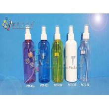 PET432. Botol plastik PET 250ml joni bening tutup