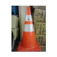 Texas Rubber Cone Orange 75 cm