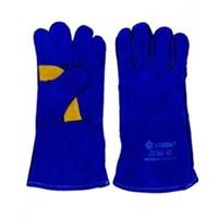 Jual Sarung Tangan Safety Las Merk JASON Biru 14