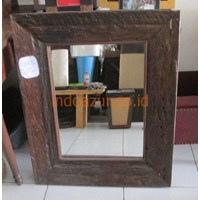 Furniture Indonesia Mirror Teak Wood From Railway Bearing