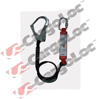 Single Lanyard With Energy Absorber