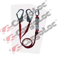 Twin Lanyard With Energy Absorber