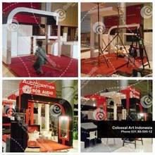 Kontraktor Booth Stand Custom Pameran Murah di Sur