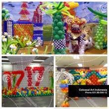 Dekorasi Balon Arch Murah di Surabaya