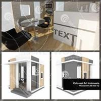 Jual Office Marketing Proyek Property Modular Dengan Biaya Murah di Surabaya