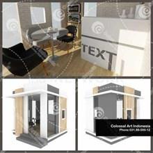 Office Marketing Proyek Property Modular Dengan Bi