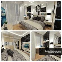 Apartement Interior Furniture Bergaransi