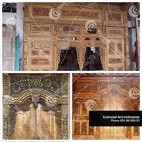 Cheap Carved Ornamental Door Jamb In Surabaya
