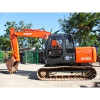 Excavator Hitachi EX100 - 5E Built Up Ex Rental Surabaya