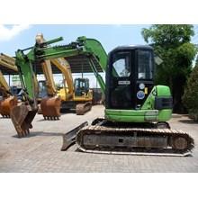 SELLING PC75 Komatsu UU3C Excavator Built Up Japan Ex Rental Surabaya