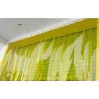 Tirai Plastik PVC Gorden Kuning