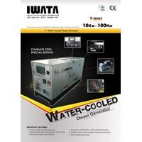 Jual Iwata Water - Cooled Diesel Generetor