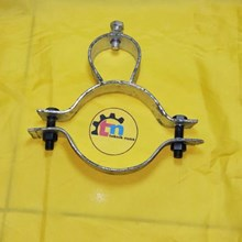 Pju Pole Clamps Clamps Clamps Street Light Pole Mast Pipe Solar Cell