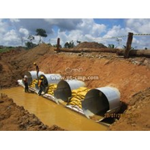 Corrugated Steel Pipe / Armco