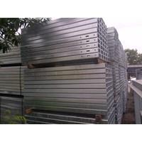 Jual Post Tiang Penyangga Pagar Guardrail