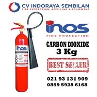 Tube CO2 Fire Extinguisher 3 kg