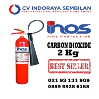 Tube CO2 Fire Extinguisher 2 kg